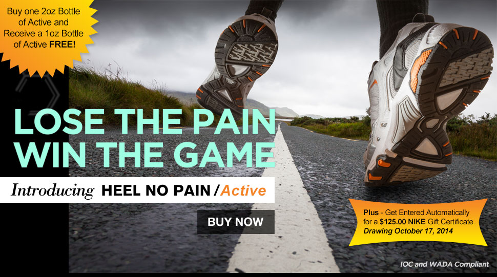 Heel No Pain / Active by Biochemistry™