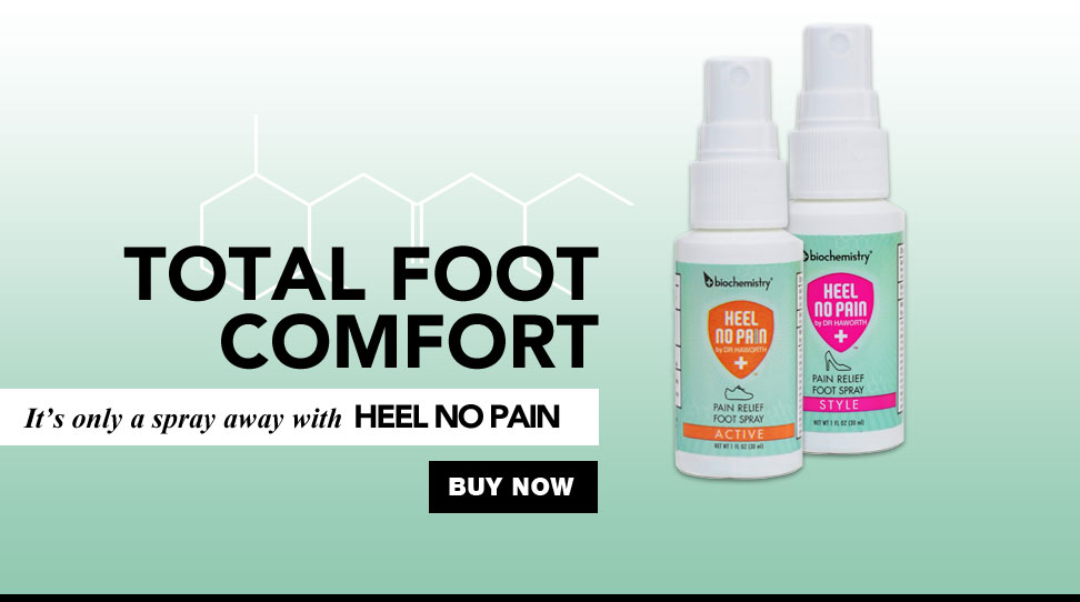 Heel No Pain by Biochemistry™