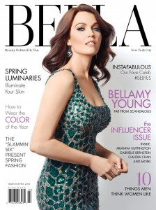 Bellamy Young BELLA NYC Magazine March/April 2014 Cover
